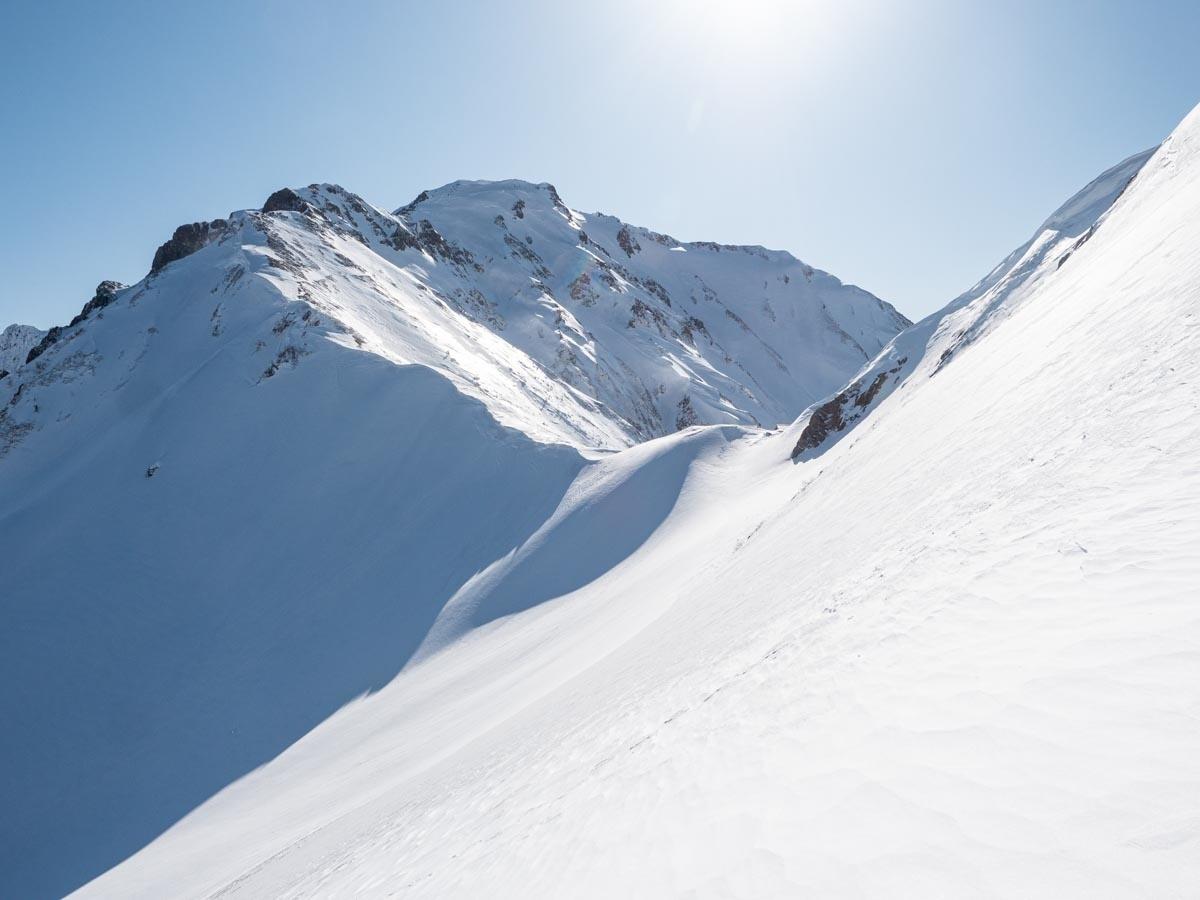 白岳の登り