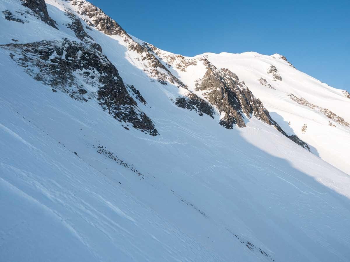 五竜山頂への登り