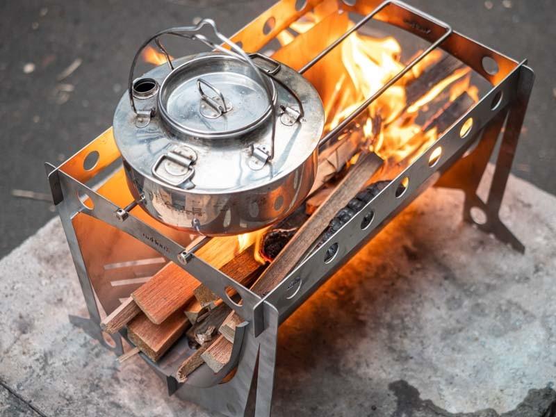 xunhuo チタン焚き火台