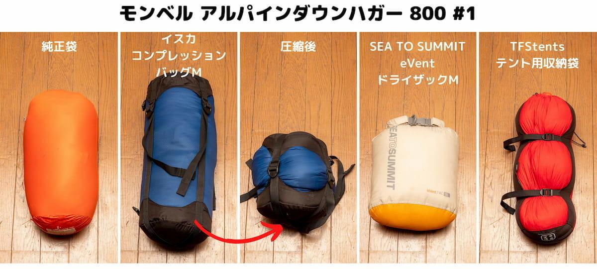 コンプレッションバッグ比較