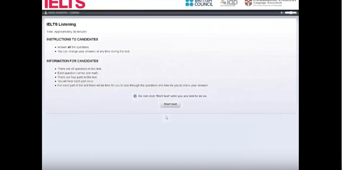IELTSコンビューターベース