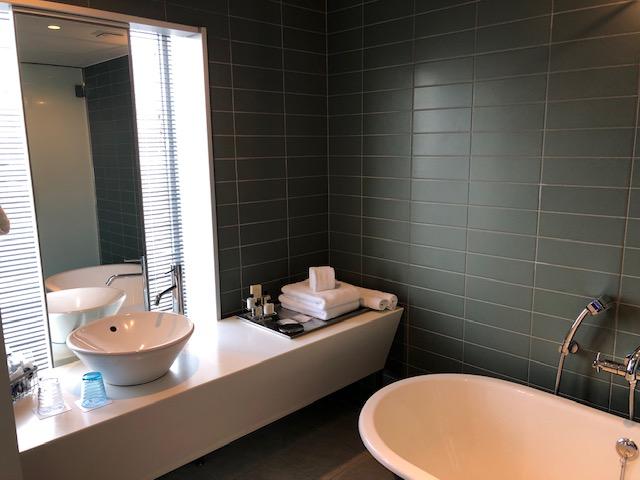 新宿グランベルホテルの洗面所