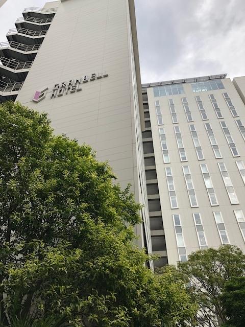 新宿グランベルホテルの外観