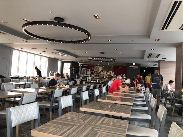 新宿グランベルホテルの朝食
