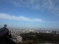 名古屋城の上から