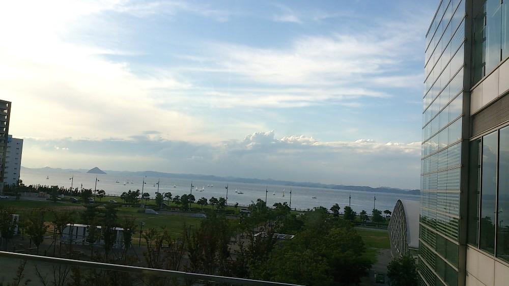 サンポートからの風景