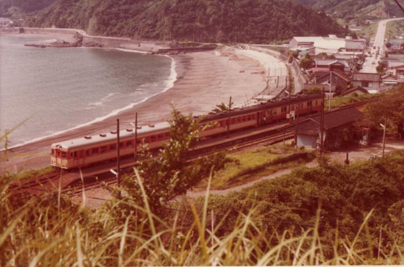 昭和54年 土讃本線安和駅 - ぞうまさの昔の鉄道写真集