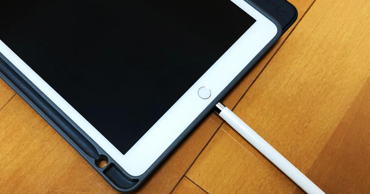 iPadのApplePencil充電方法