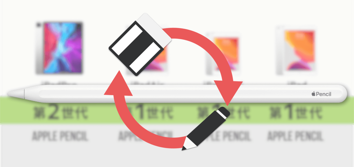 ApplePencilタッチ機能