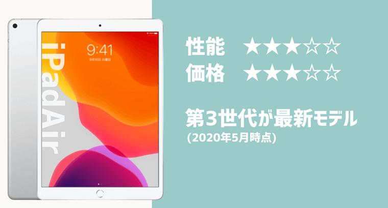 iPadAir 比較詳細表 性能 インチ