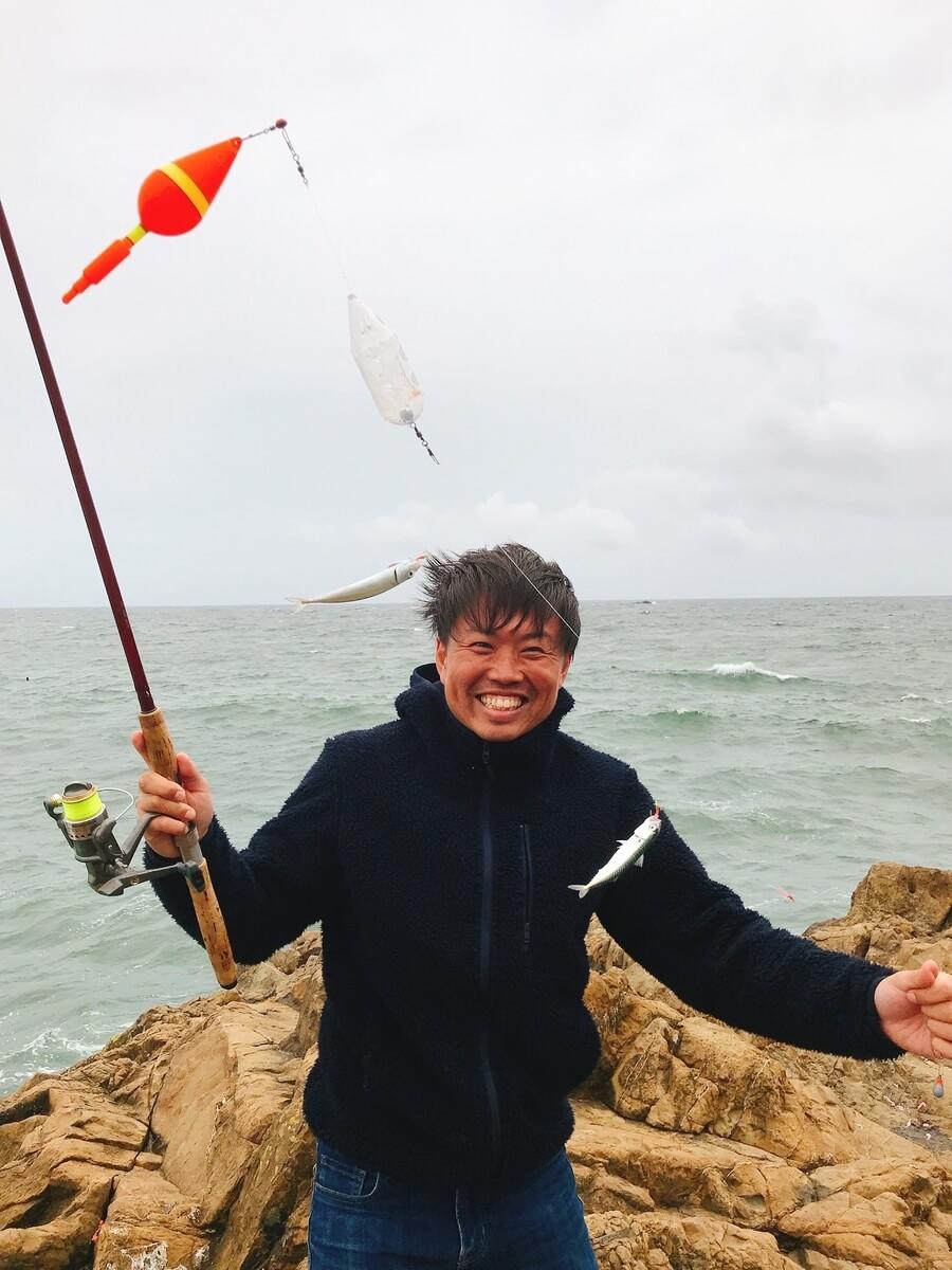 鴨川漁港鯖釣り