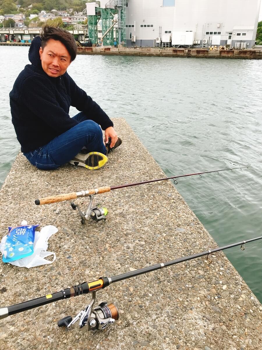 鴨川漁港 釣り とホラッチョ