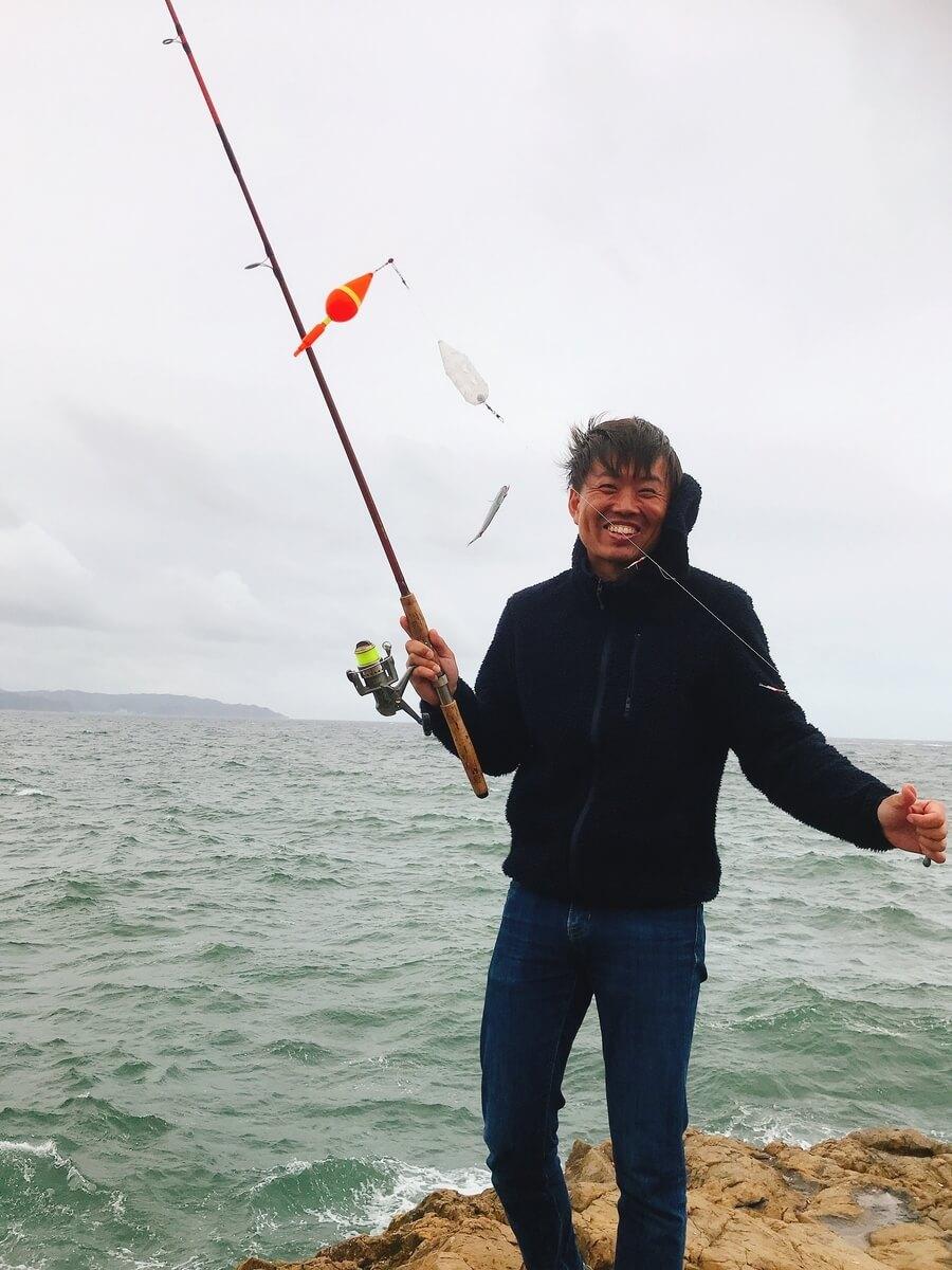 灯台島は鯖っ子が入れ食い