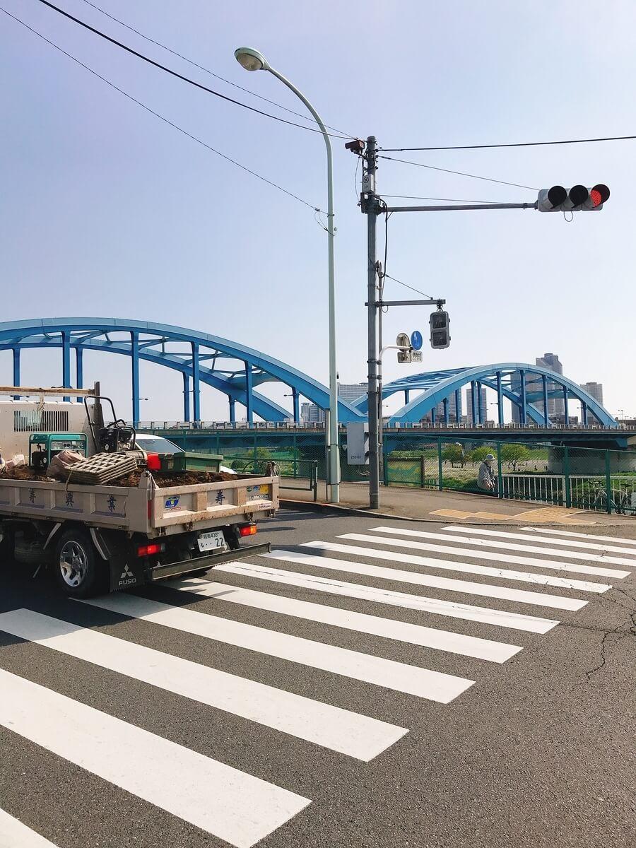 多摩川丸子橋