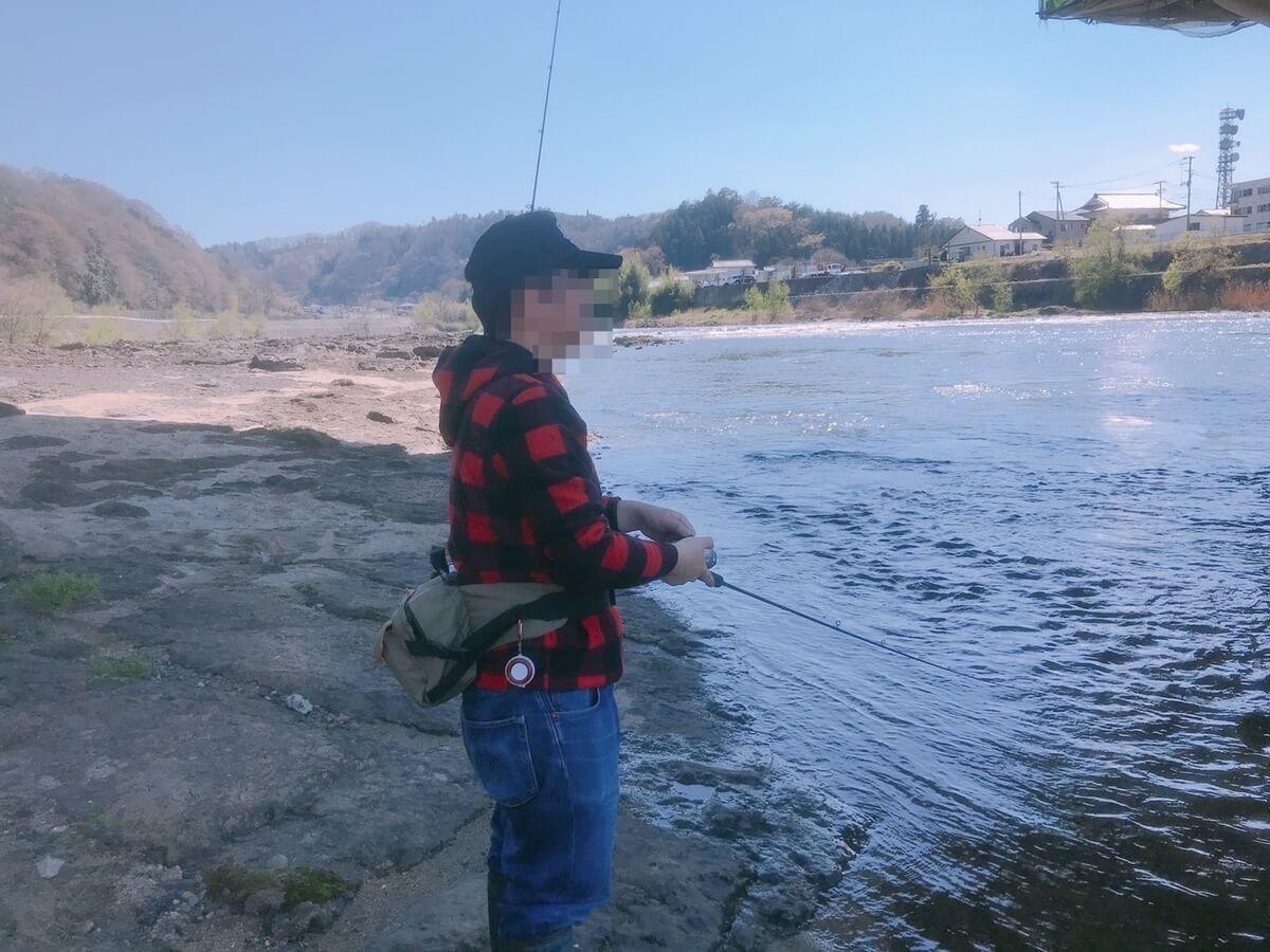 助けて頂いた山形の釣り師