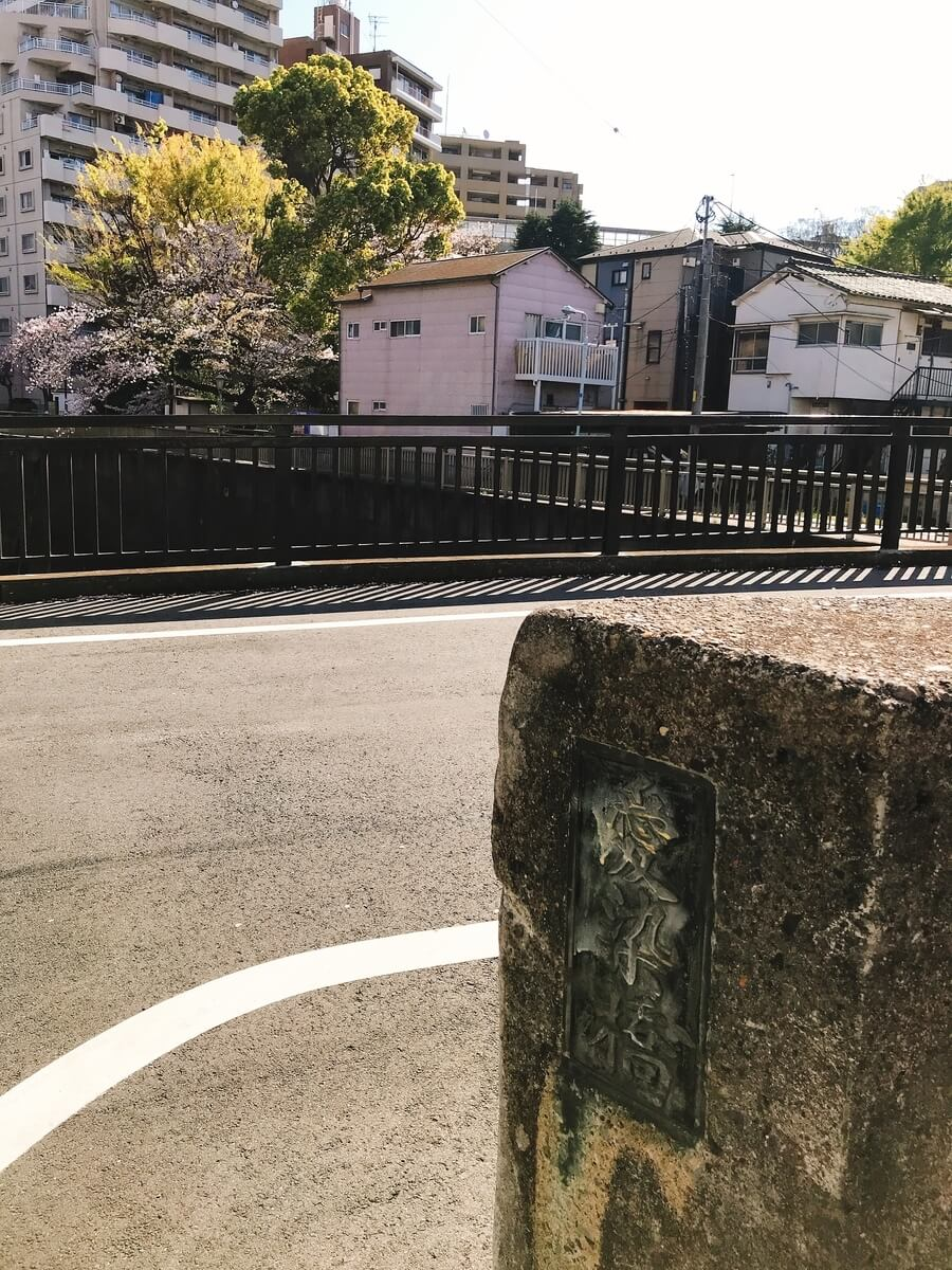 石神井川 愛染橋の桜