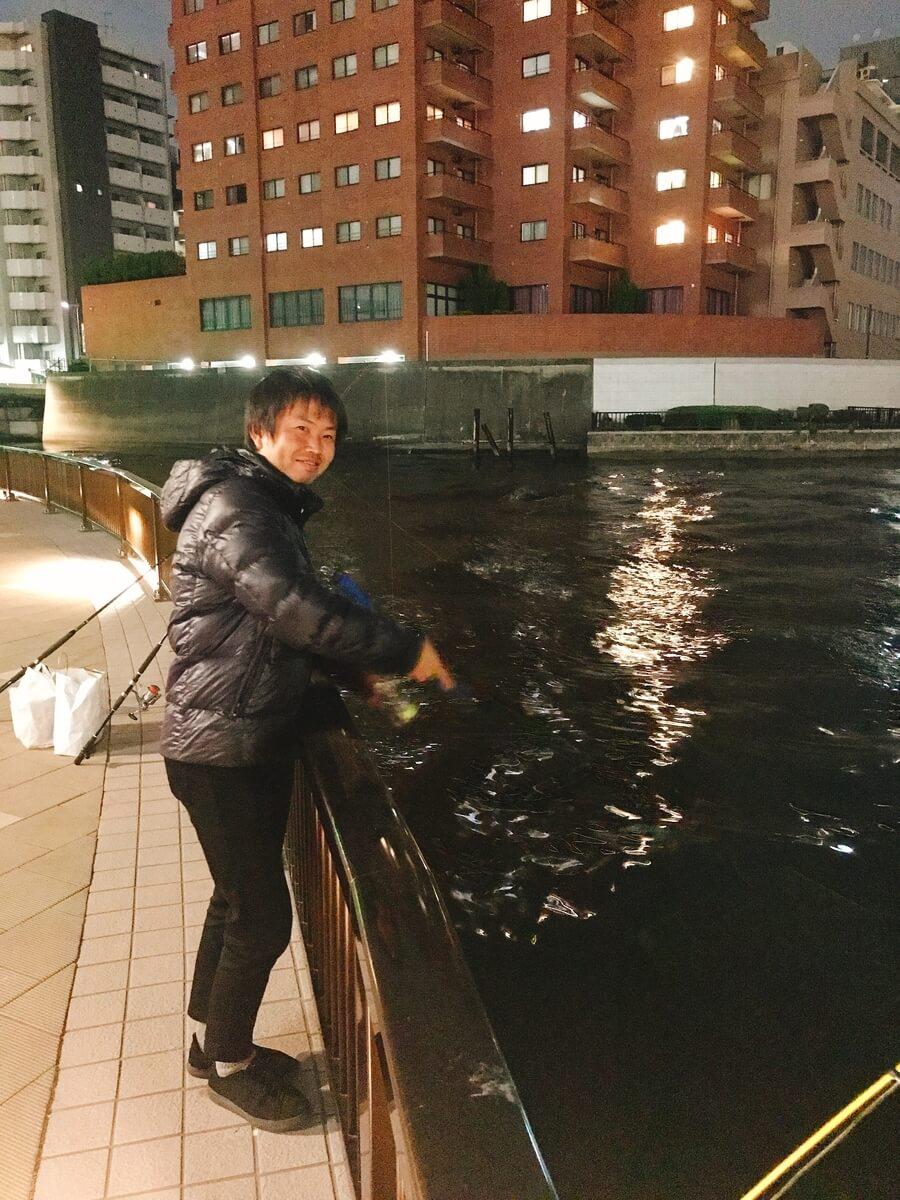 隅田川両国橋シーバス