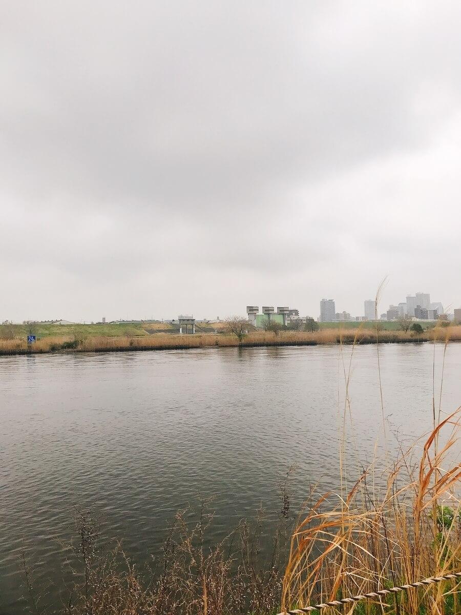 荒川 水門