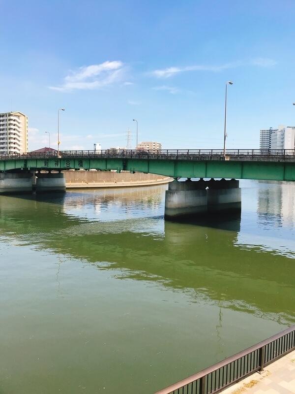 隅田川新神谷橋