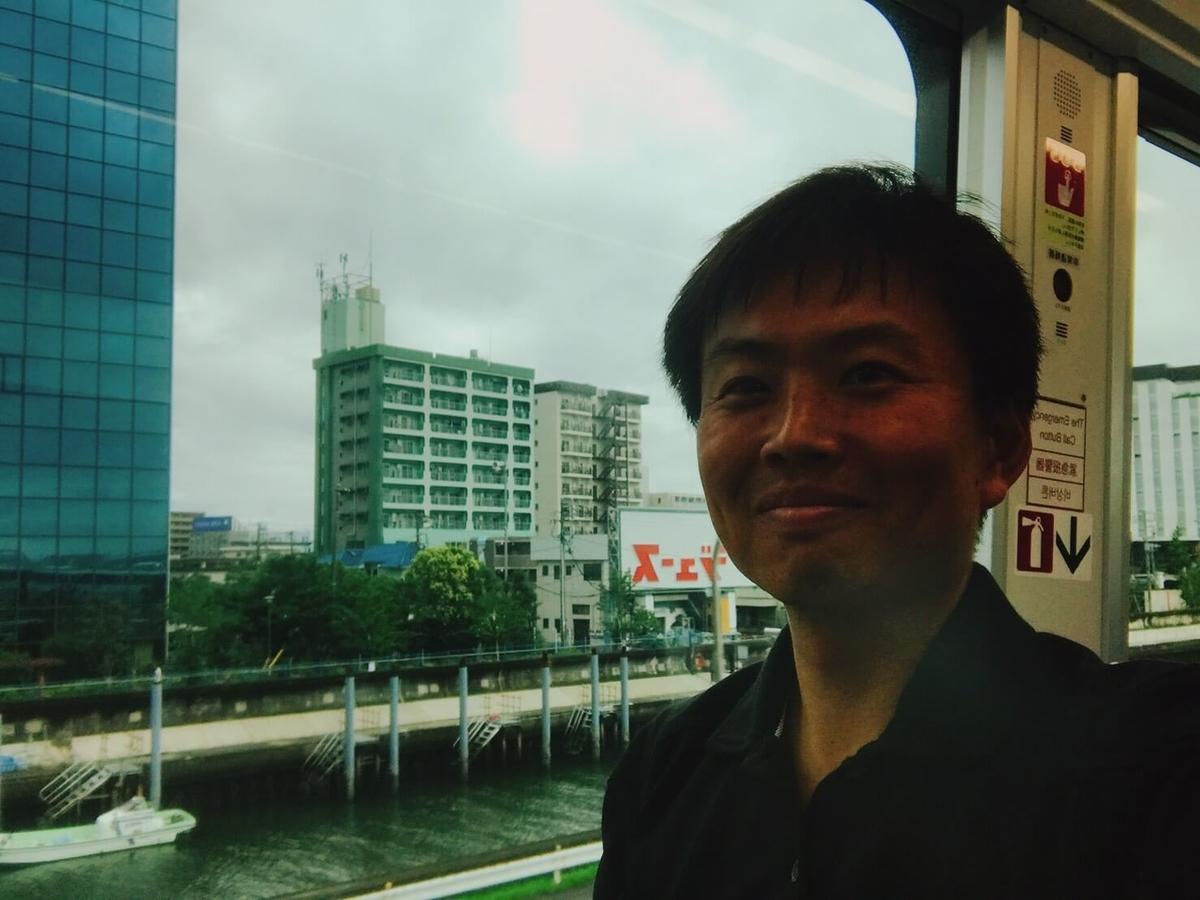 東京モノレールで京浜運河 大和大橋に向か途中の謎