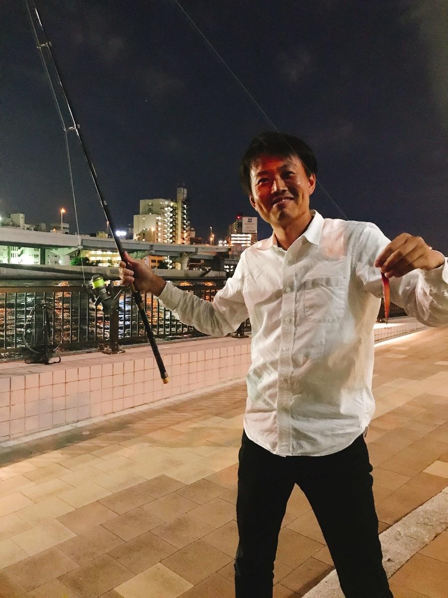 隅田川シーバス狙いのエリテン