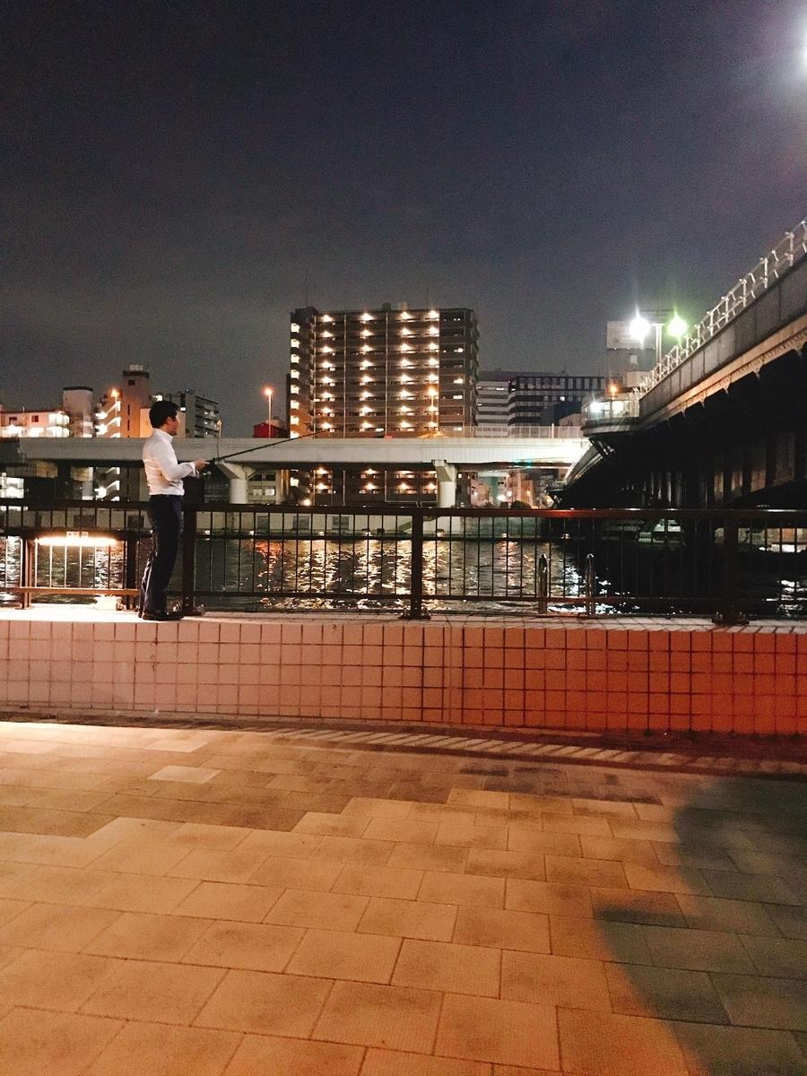両国橋隅田川シーバス