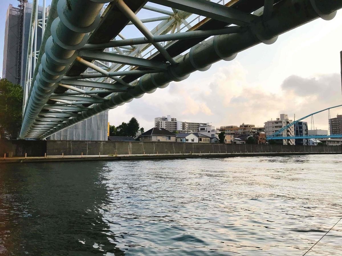 橋詰テラスの対岸