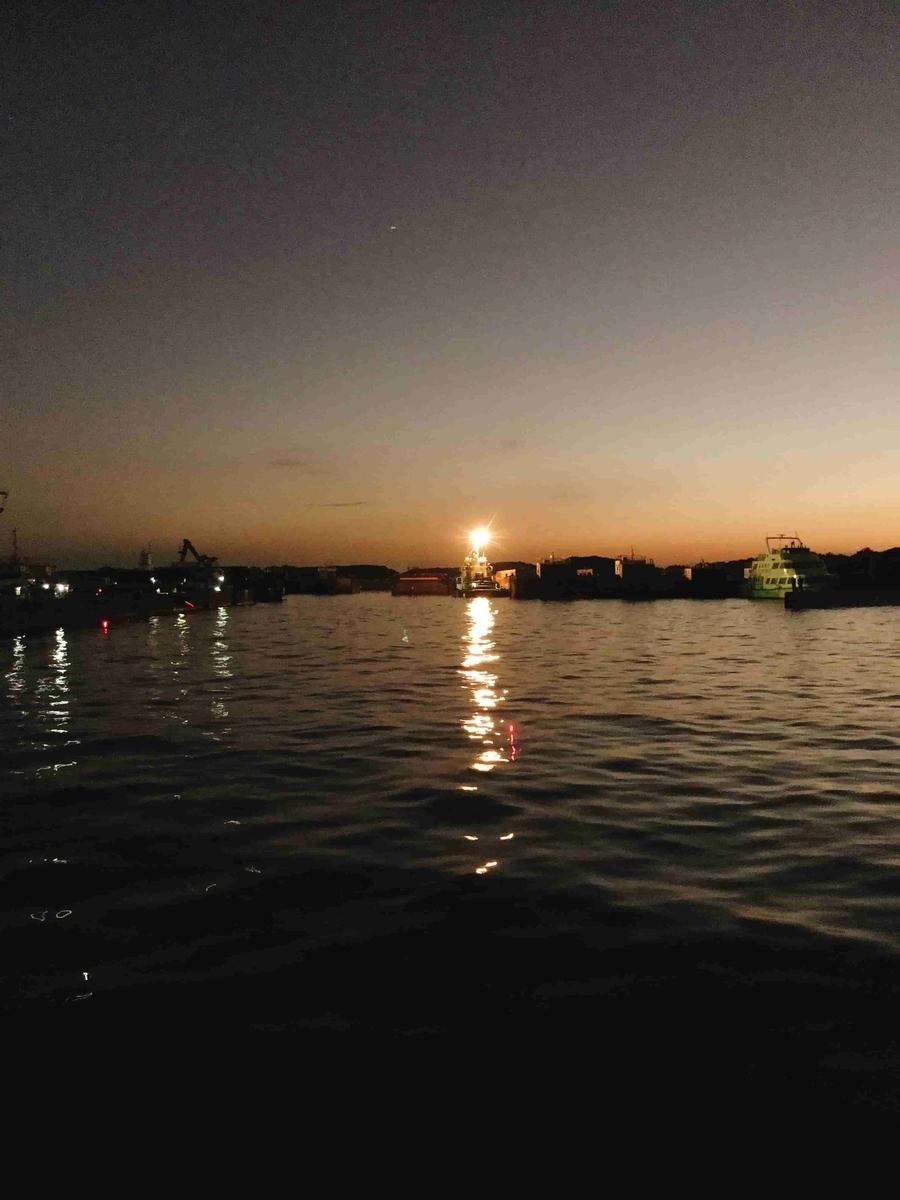 富津新港夜釣り