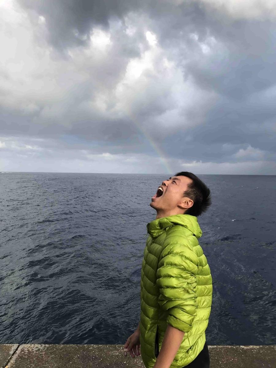 神湊港:軍艦堤防釣り