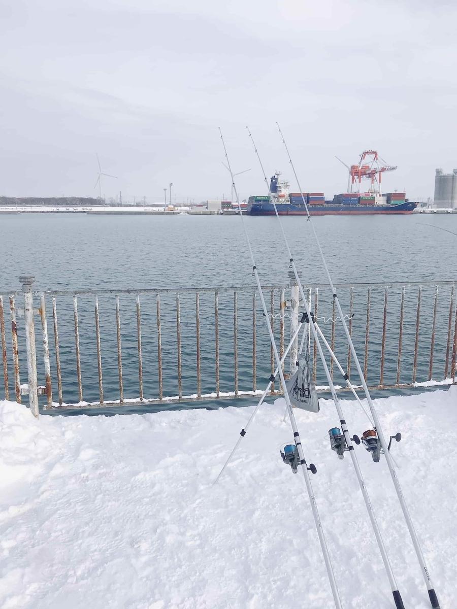 石狩湾新港チカ釣り