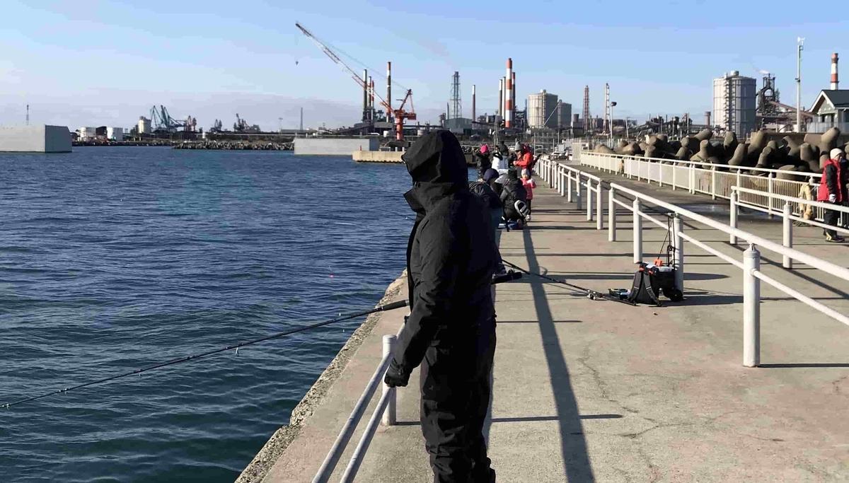 鹿島港魚釣園釣れない