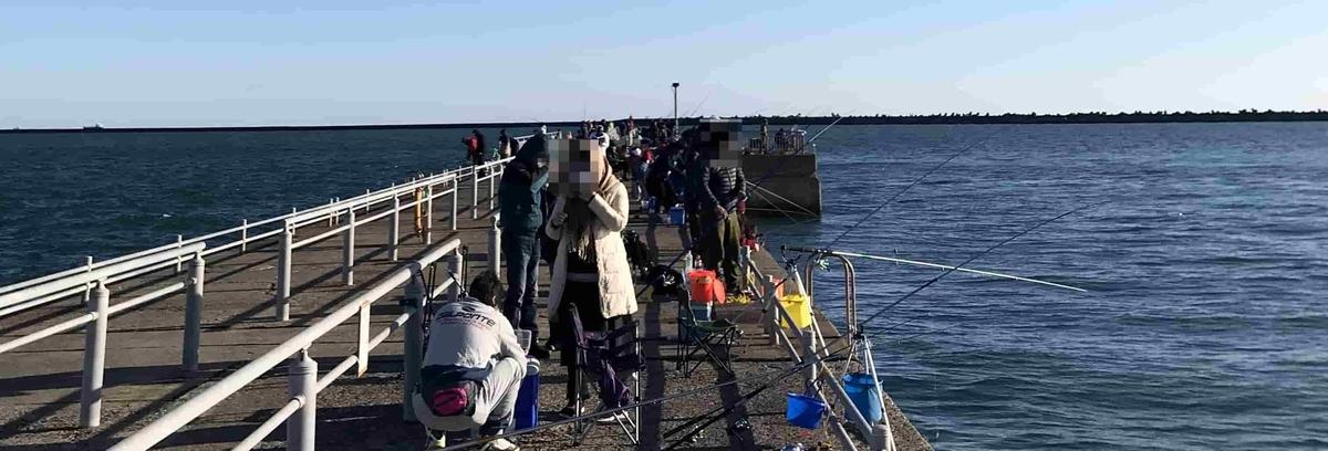 鹿島港魚釣園にんき