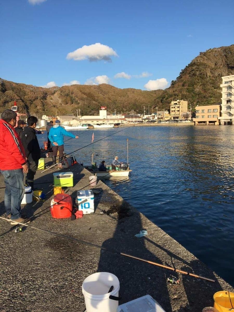 小湊港ヒラマサ、カマスポイント釣り