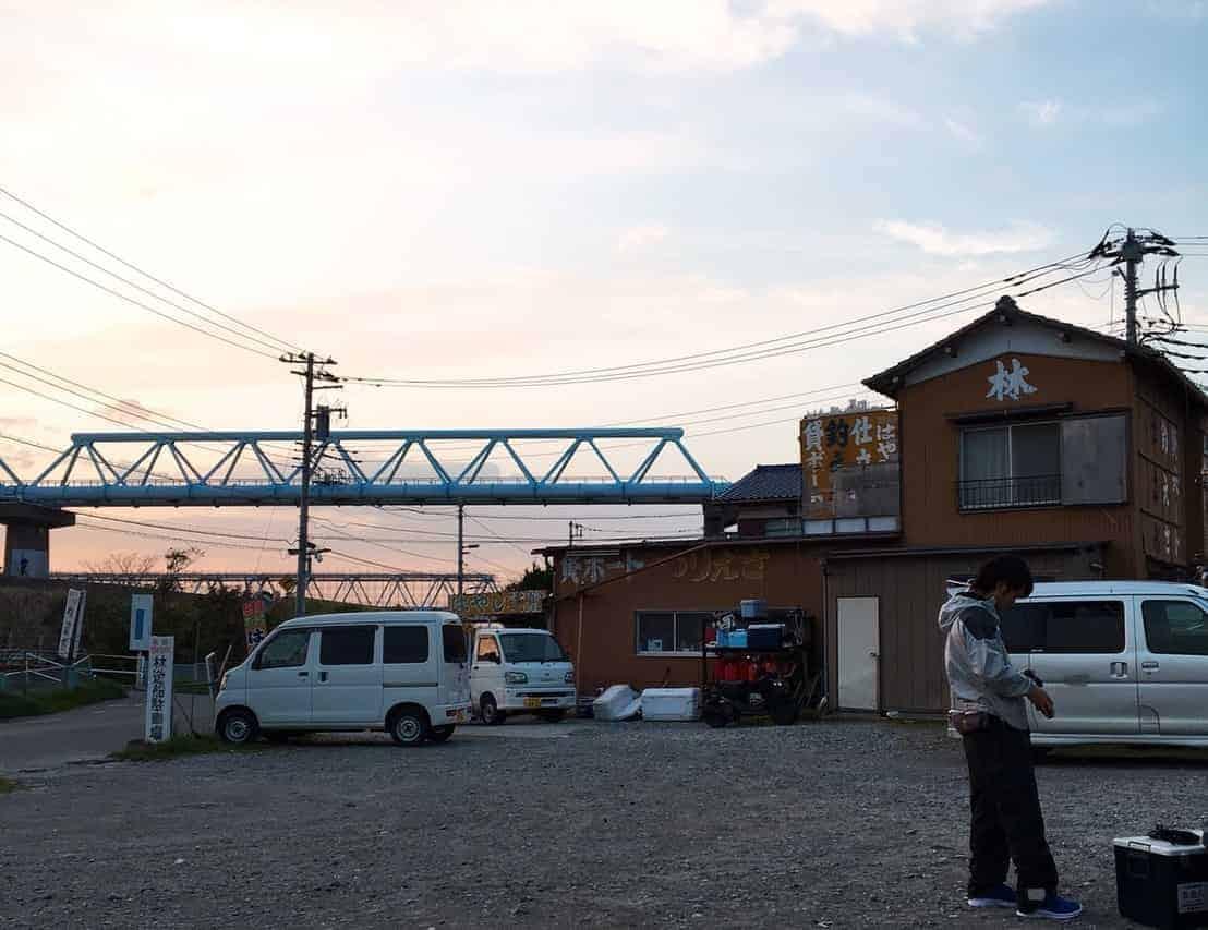 江戸川放水路釣り林遊船