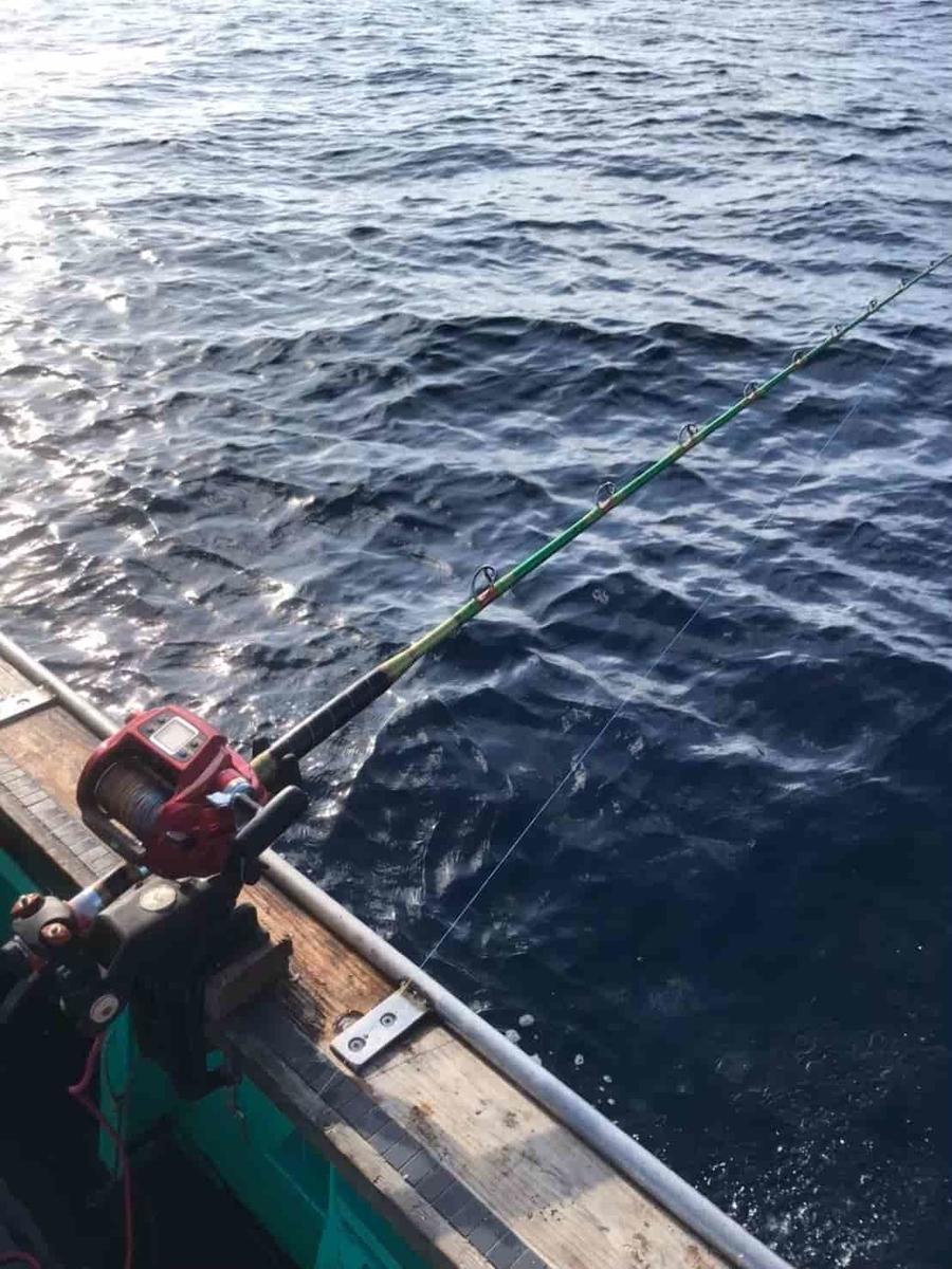 八丈島釣りタックル