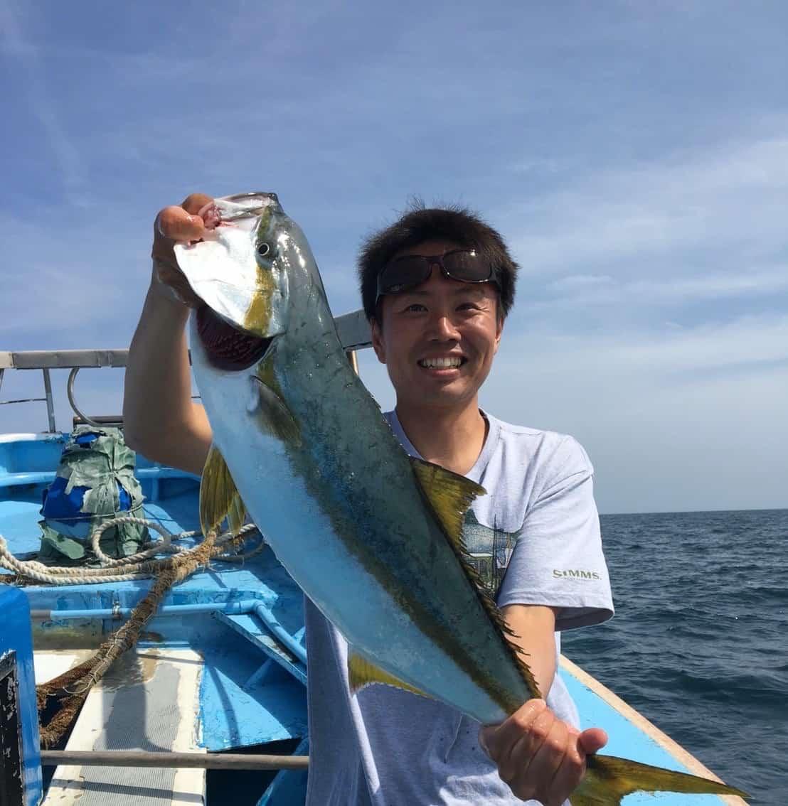 波崎新港ヒラマサ