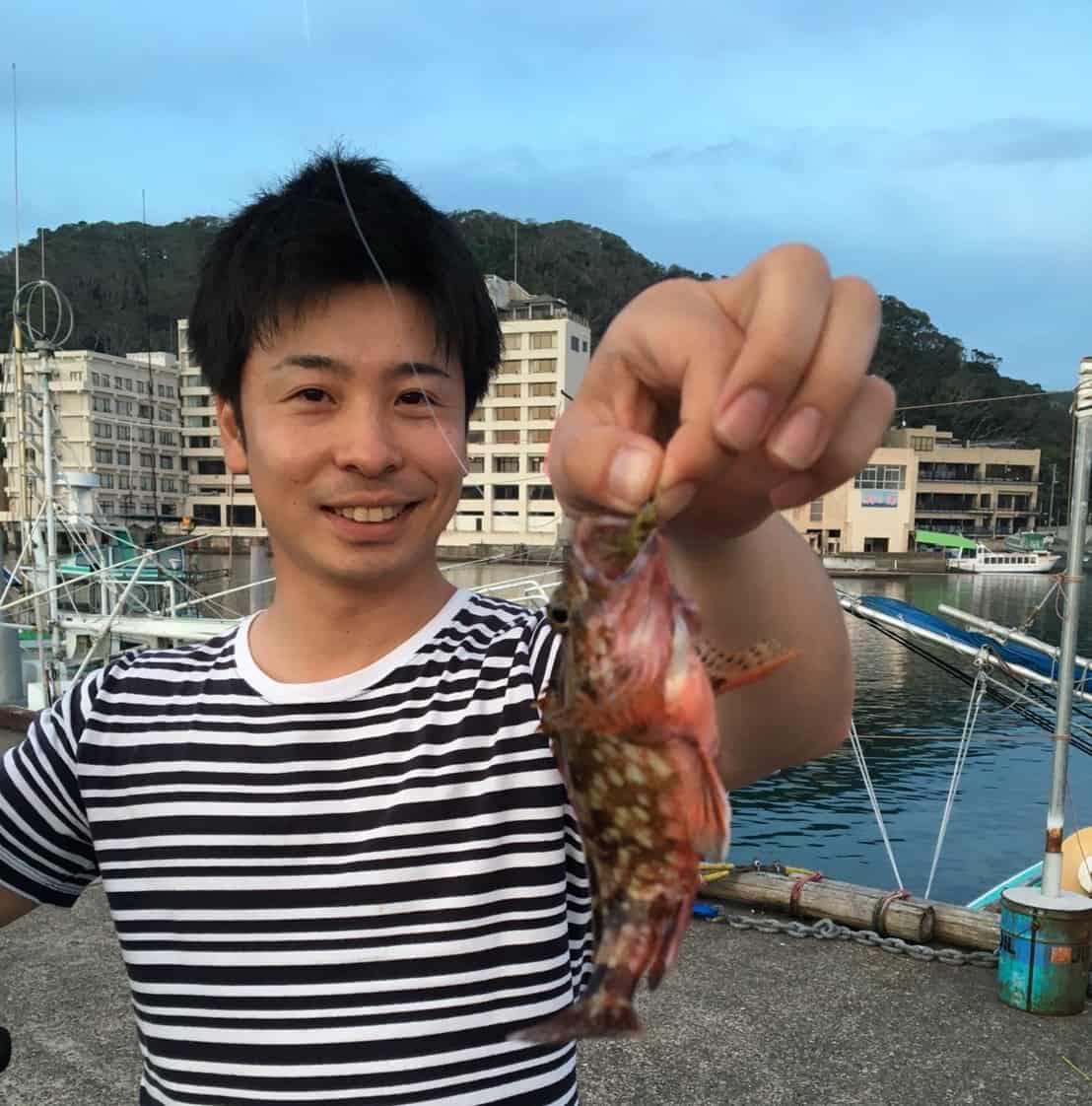 小湊漁港カサゴ