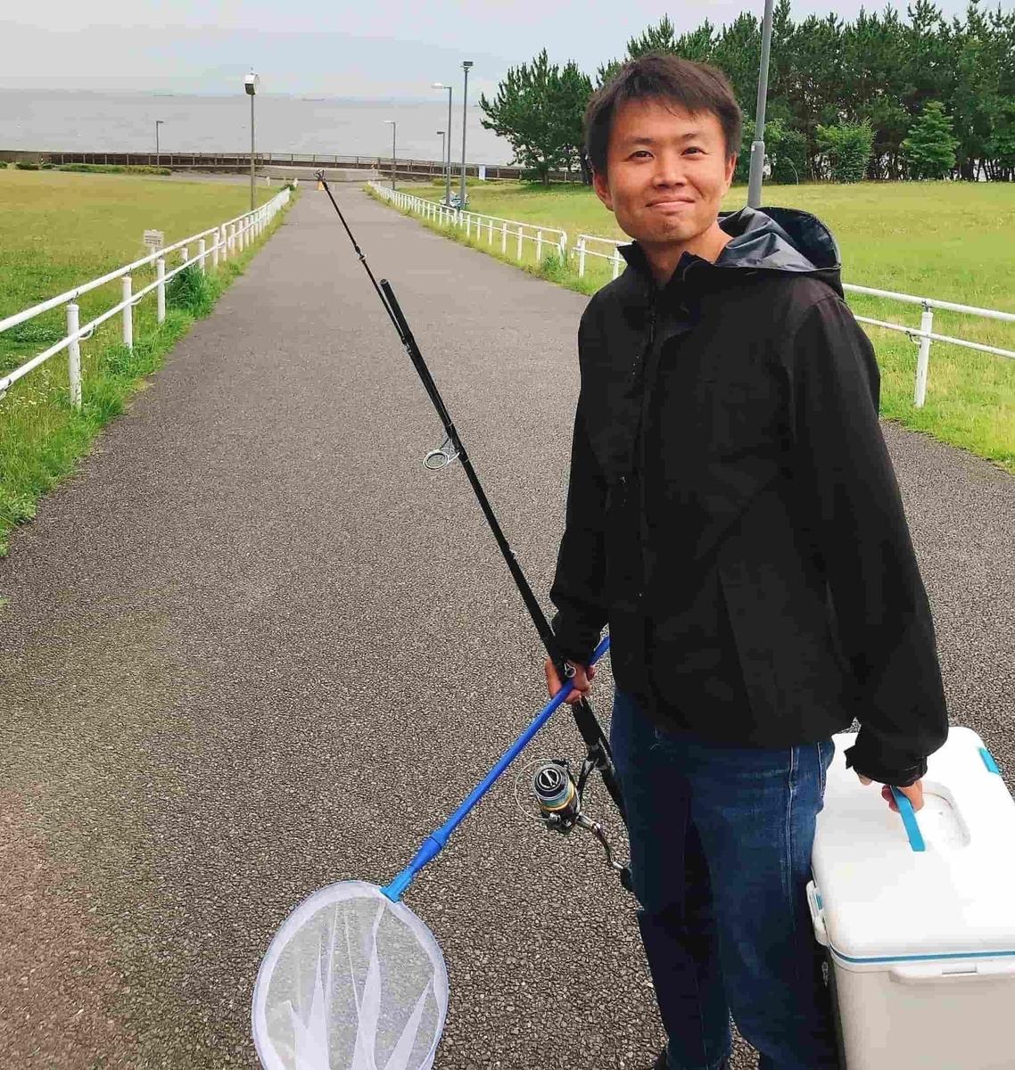 高洲海浜公園タコ釣り
