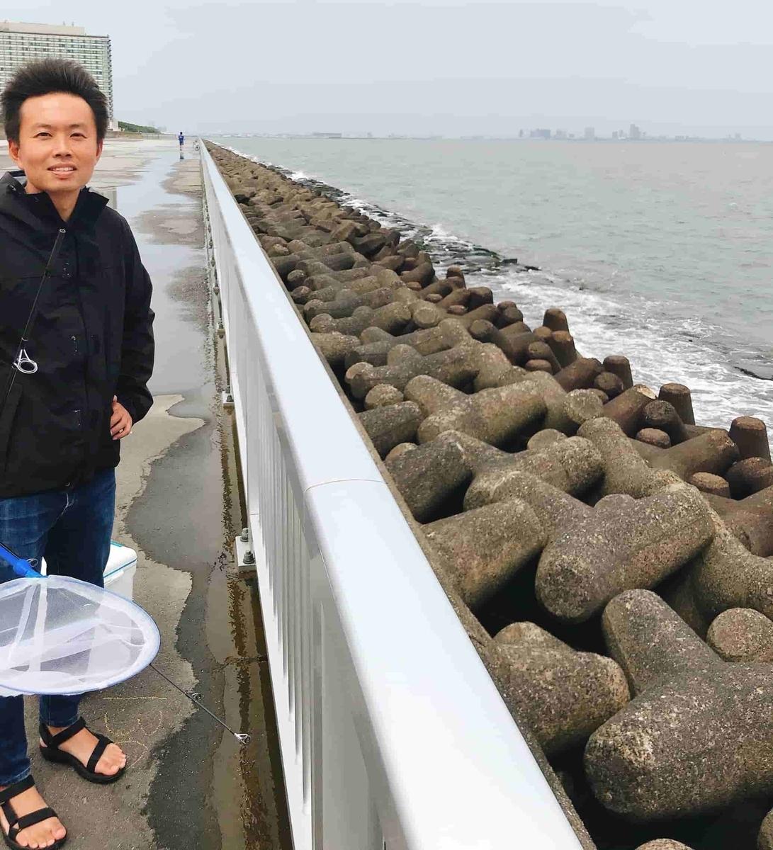 高洲海浜公園釣りテトラ