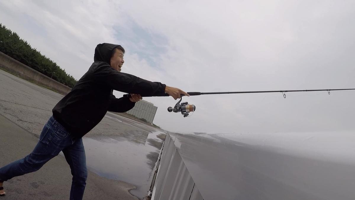 高洲海浜公園釣りタコ仕掛け