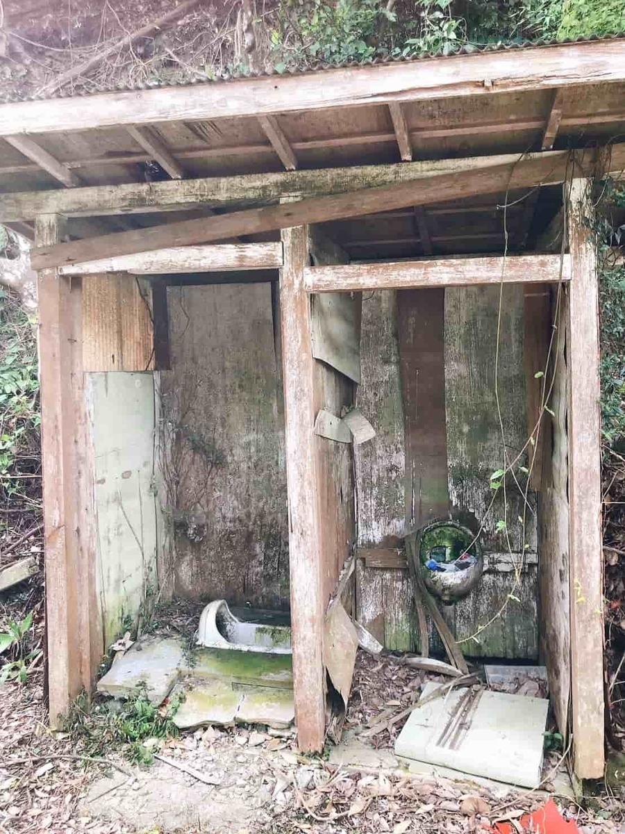 金山ダムトイレ