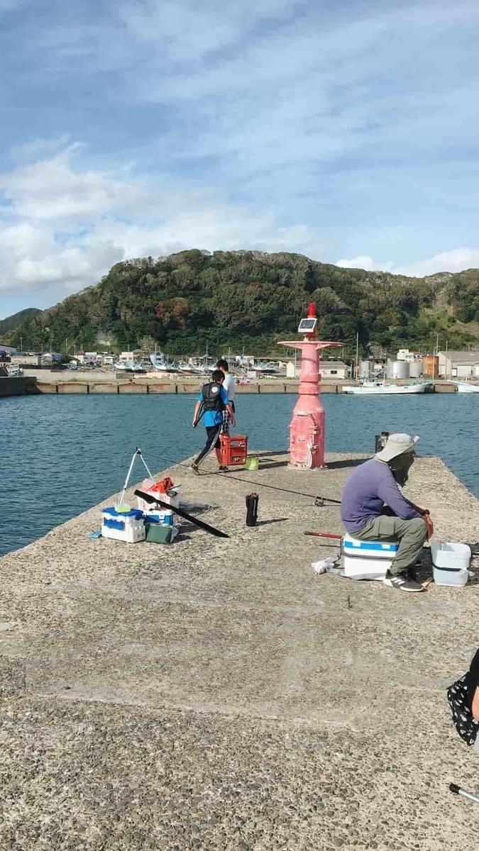 小湊港釣り