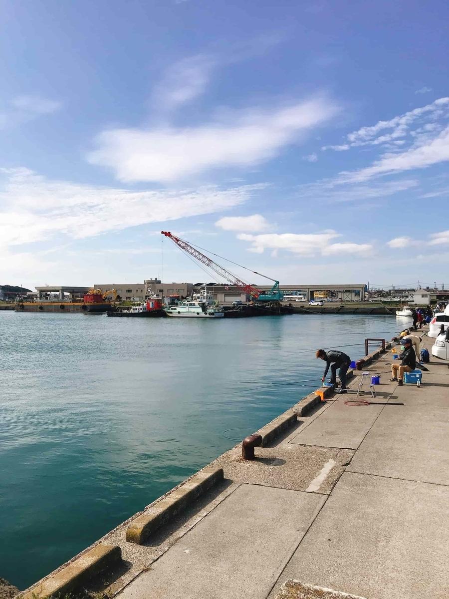 那珂湊港サビキ釣り