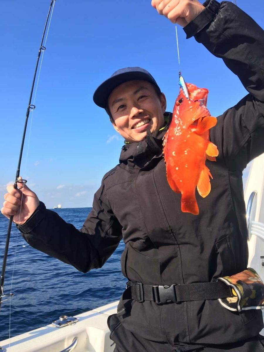 大田区遊漁船ポテンシャル南房総アカハタ