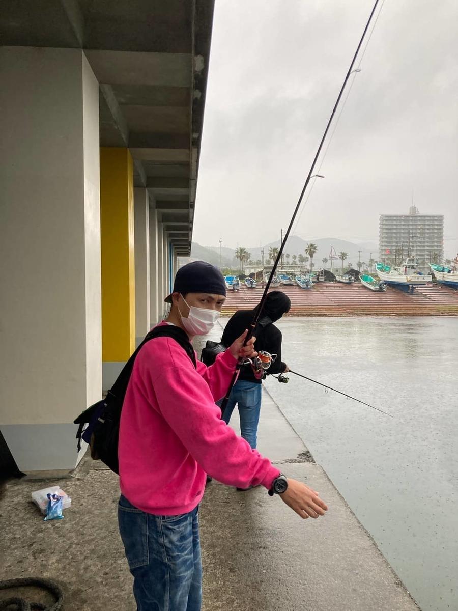 鴨川漁港釣り