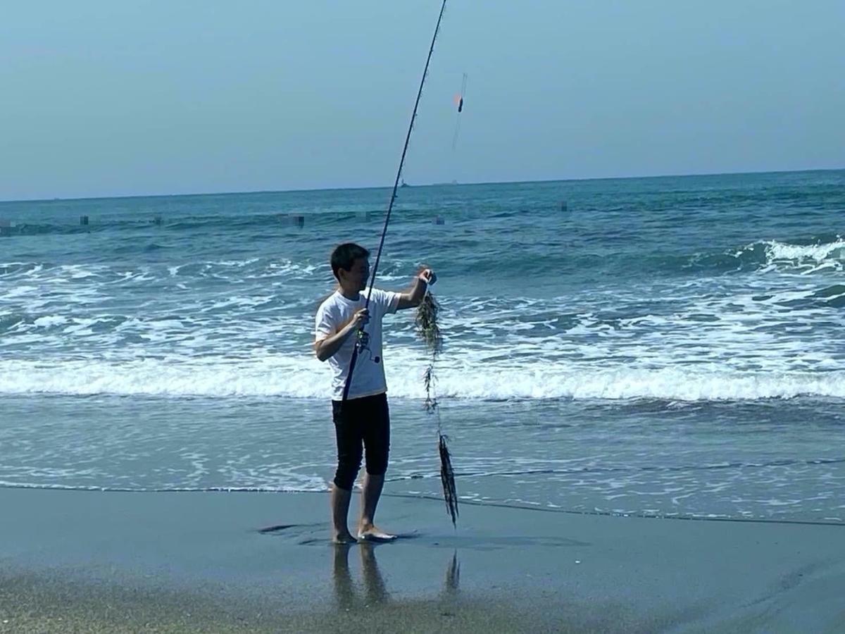 平砂裏サーフ釣り