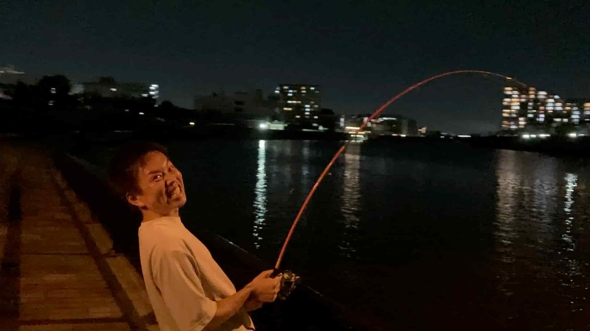 隅田川 新神谷橋 シーバス 釣り