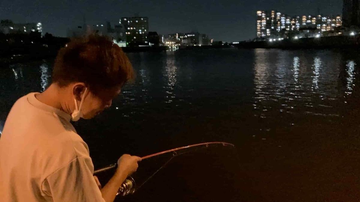 隅田川 新神谷橋 うなぎ 釣り