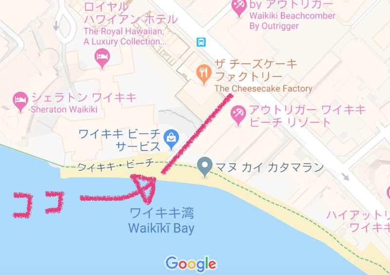 映えの地図