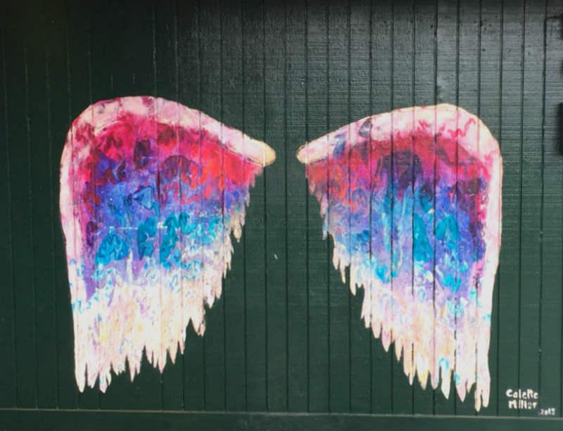 天使の羽ハレイワAngel Wings